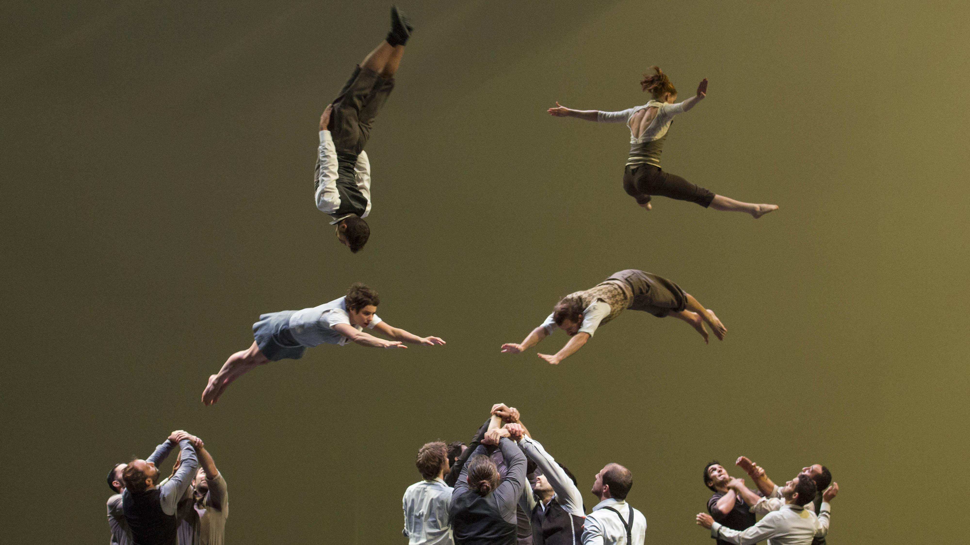 The Physics of Acrobatics
