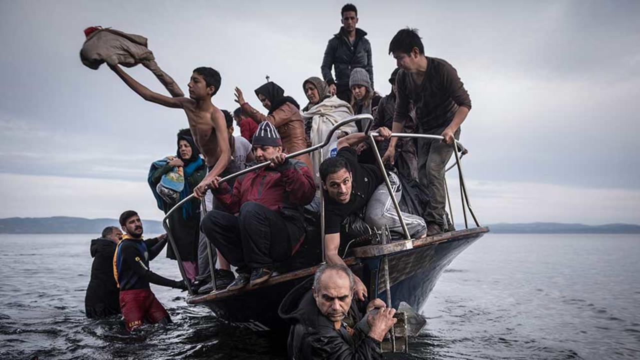 Lesbos, Greece, 2015.