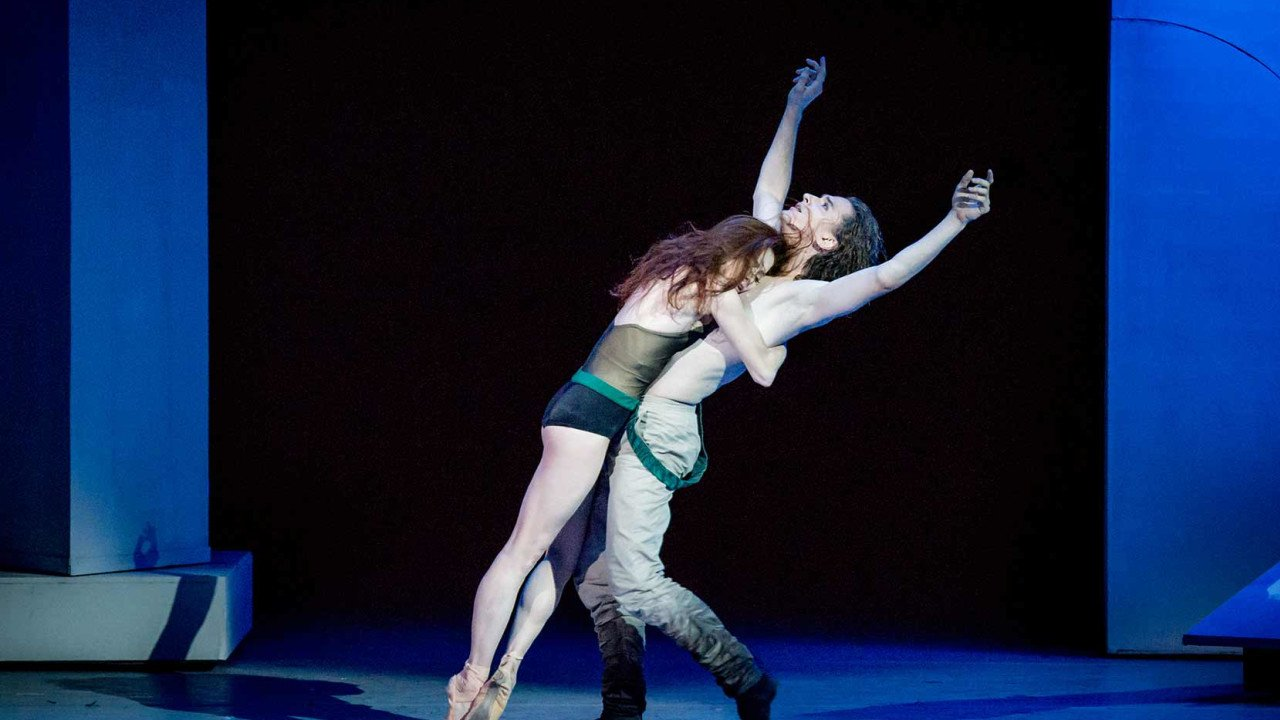 Ekaterina Krysanova and Vladislav Lantratov of the Bolshoi Ballet in The Taming of the Shrew