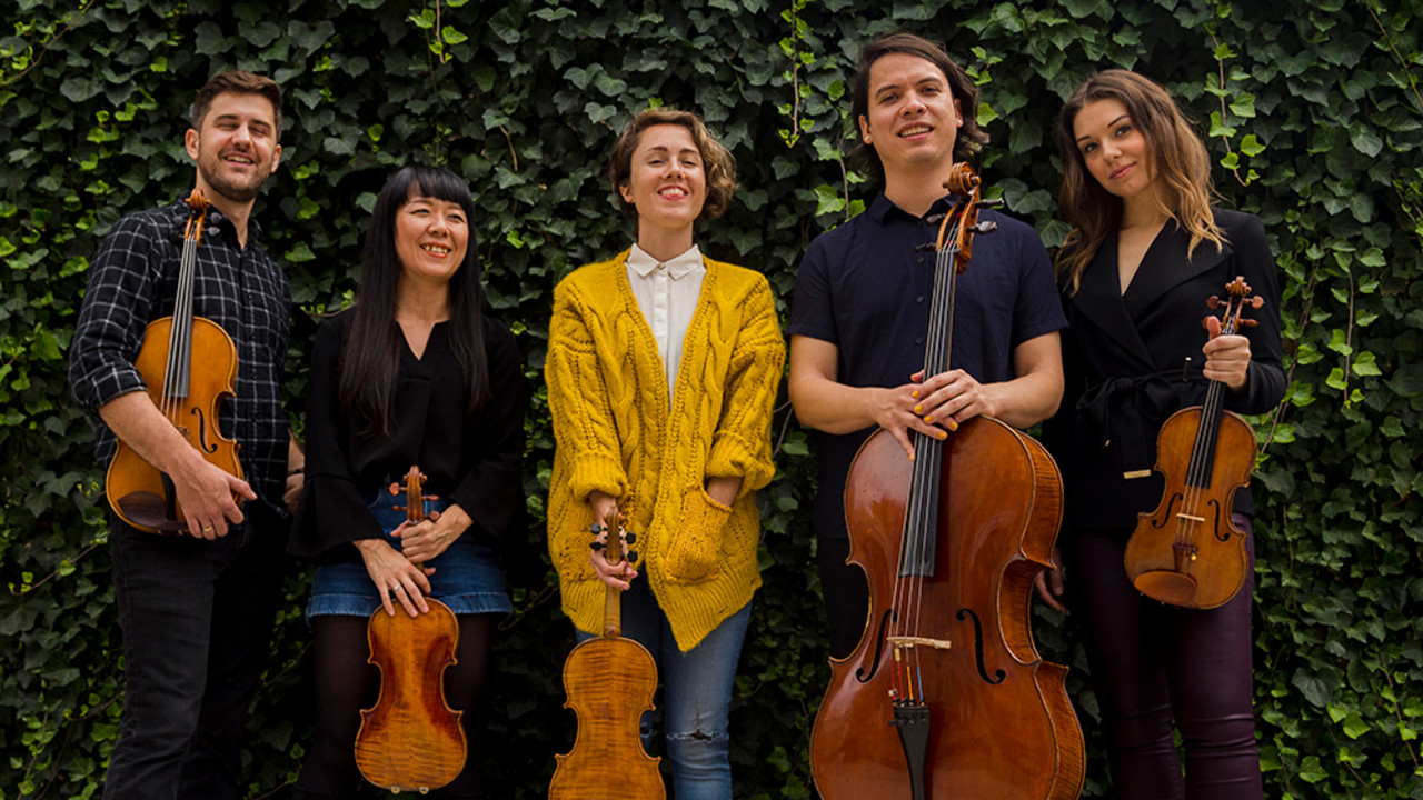 Attacca Quartet with Caroline Shaw