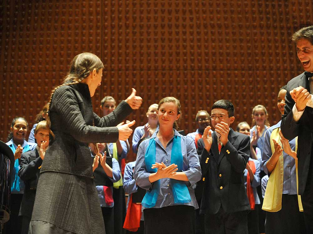 Meredith Monk and the Young People's Chorus of New York City
