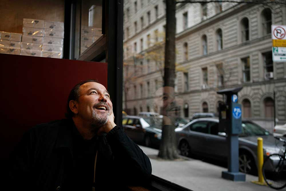 Ruben Blades at a Manhattan restaurant, 2009.