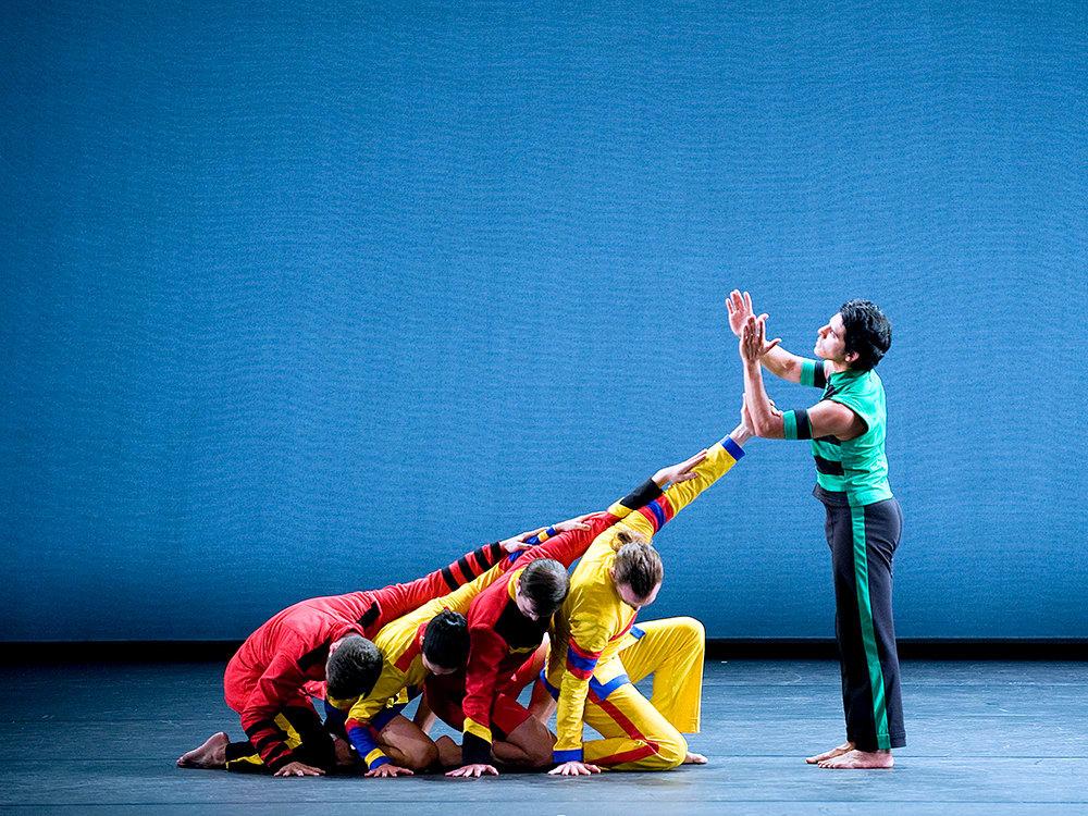 Mark Morris Dance Group performs Empire Garden