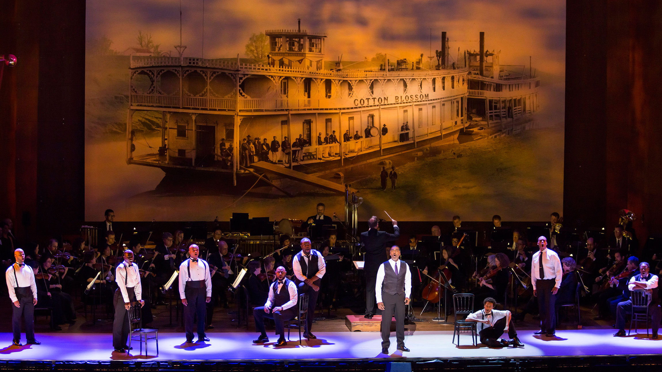 Kern & Hammstein's Show Boat in Concert with the New York Philharmonic
